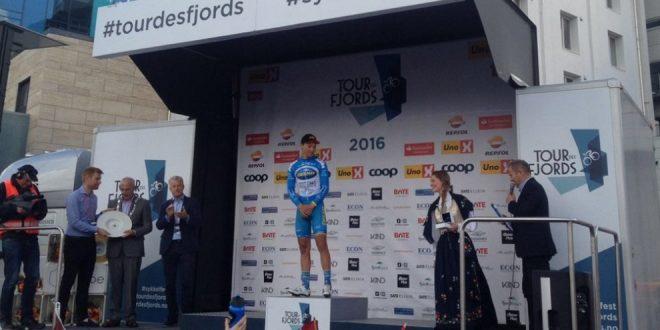 Tour des Fjords 2016, Andersen regala la prima vittoria stagionale alla Delko