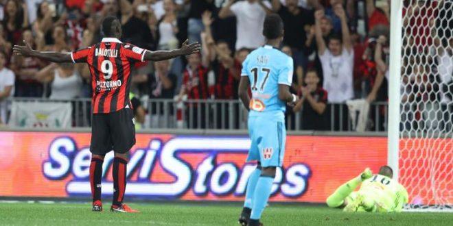 Ligue 1, 4a giornata: Balotelli-show, il Nizza rimonta e rimane in testa alla classifica assieme al Monaco, che strapazza il Lilla (1-4). Psg col freno a mano.