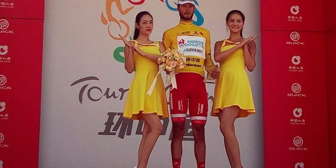 Tour of China I, cappotto Italia: sei su sei, generale a Bonusi. Dominio Androni