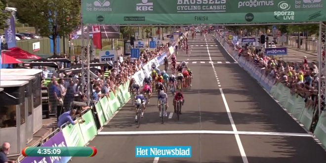 Brussels Cycling Classic 2016, festeggia Tom Boonen