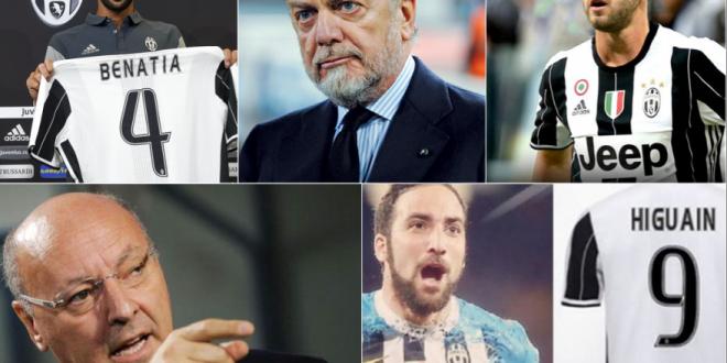 Pagelle calciomercato/1: Juve regina; Napoli e Roma dietro; Inter spendacciona, Milan taccagno