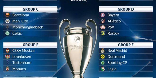 Champions League 2016-17, 1a giornata: presentazione e probabili formazioni