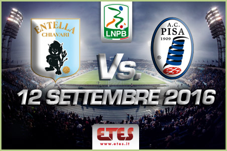 Serie B, 3a giornata: 20:30 Entella – Pisa, presentazione e probabili formazioni