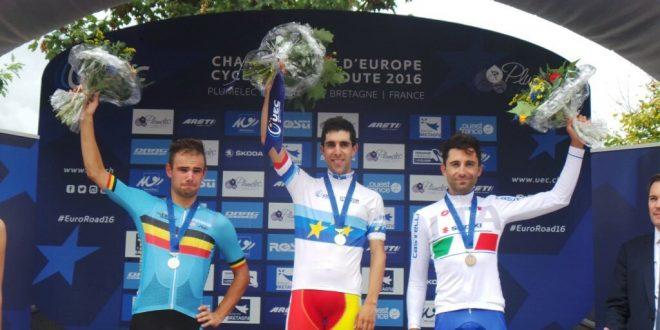 Europei Plumelec 2016: Castroviejo d'oro a crono, ma il bronzo è di Moser