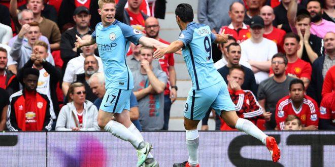 Premier League, 4a giornata/1: il derby di Manchester è un affare Citizens, 1-2 e fuga solitaria!!!