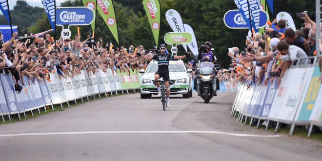 Tour of Britain 2016, assolo di Ian Stannard. Quarto Ruffoni