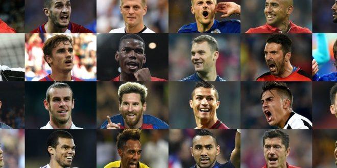 Pallone d'Oro, Buffon candidato con i 30 grandi d'Europa