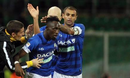 Serie A, 10ª giornata: Palermo da notte fonda, l'Udinese passa 1-3