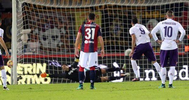 Serie A, 11ª giornata: Kalinic marca il derby dell'Appennino; la Viola sbanca Bologna