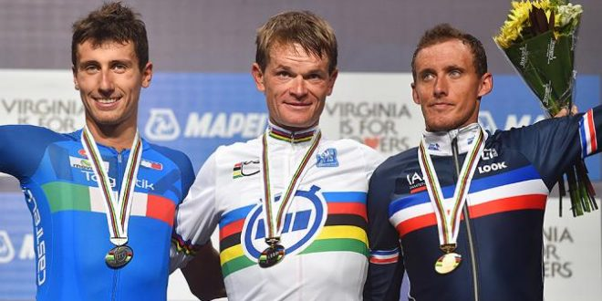 Mondiali Doha 2016, cronometro élite uomini: la startlist e i favoriti