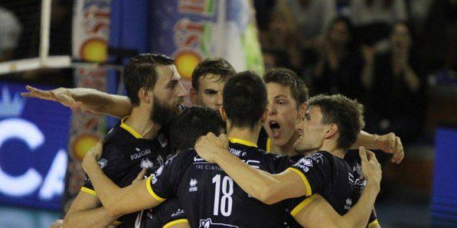 Volley maschile, Mondiale per Club: tutto facile per Trento, Minas k.o. 3-0
