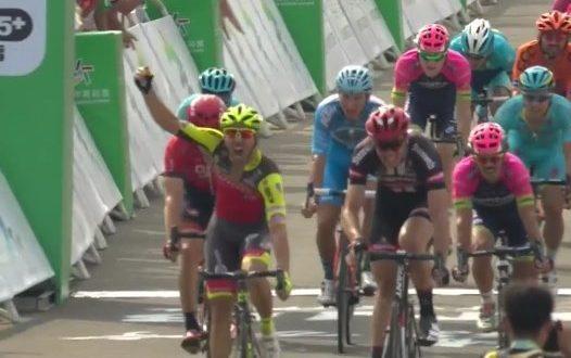 Tour of Hainan 2016, Andriato vince la prima. Terzo Ferrari