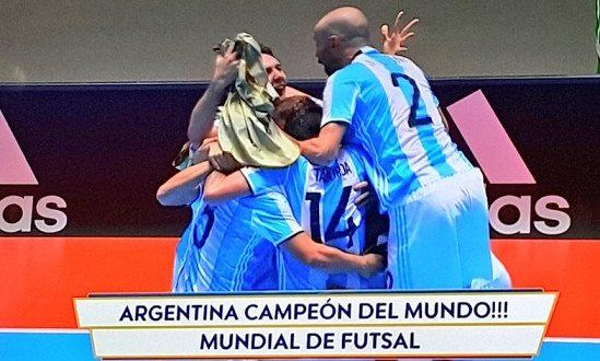 Mondiali calcio a 5, Argentina sul tetto del mondo!