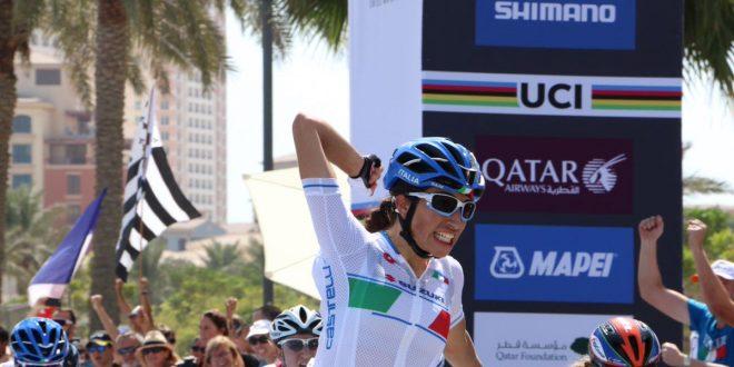 Mondiali Doha 2016, alé Italia: Balsamo medaglia d'oro juniores
