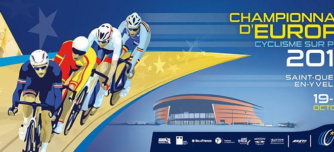 Anteprima Campionati Europei ciclismo su pista Saint Quentin en Yvelines 2016
