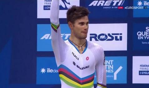 Europei pista 2016, 4^ giornata: Ganna d'argento