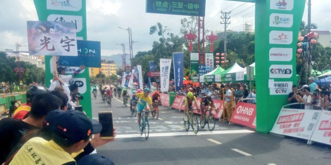 Tour of Hainan 2016, Lutsenko vince l'ottava: generale ad un passo