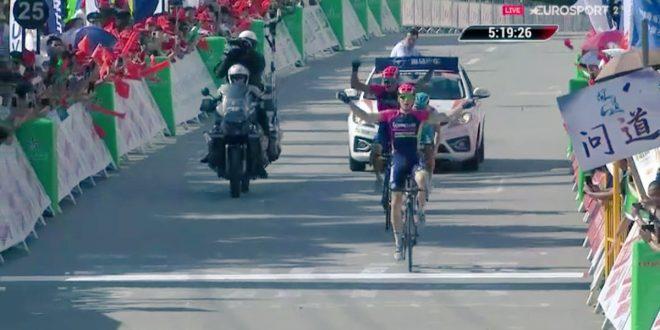 Tour of Hainan 2016, Mohoric firma la prima da pro'