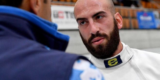 Scherma, debutto spada uomini in CDM: Santarelli terzo a Berna