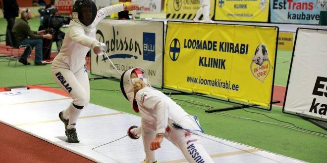 Scherma, CDM spada: a Tallinn Rizzi stop ai quarti, vince Logunova