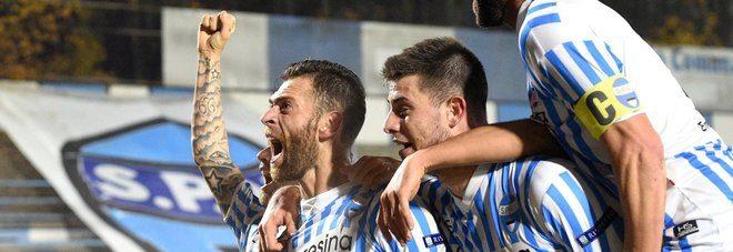 Serie B, 12ª giornata: Antenucci tripletta da paura! La Spal stende l'Avellino