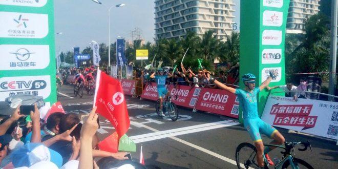 Tour of Hainan 2016, Tleubayev si prende la seconda. Ferrari ancora terzo