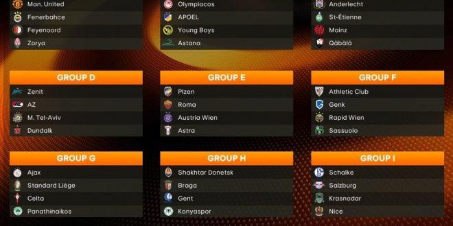 Multipla/Singole Europa League (Europa) (Parte 1) – Pronostici 24/11/16