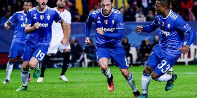 Champions, 5ª giornata: Juve dalle stalle alle stelle, a Siviglia rimontona 3-1 e ottavi in tasca!