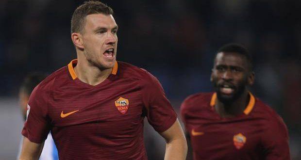 Serie A, 14ª giornata: la Roma è tutta un Dzeko-Perotti, Pescara domato 3-2