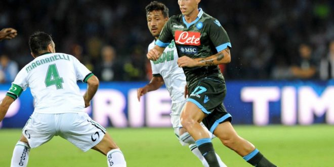 Serie A, 14ª giornata: il primo Monday Night è Napoli-Sassuolo, la presentazione