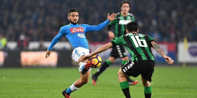 Serie A, 14ª giornata: Napoli-Sassuolo è 1-1 con due eurogol, ma gli azzurri perdono terreno