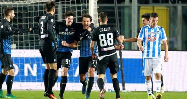 Coppa Italia, sempre Atal(f)anta-stica: la Dea piega 3-0 il Pescara e vola agli ottavi