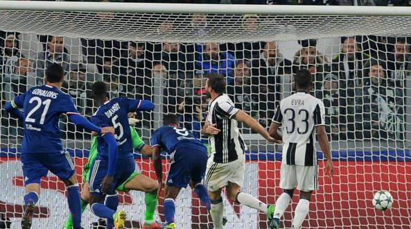 Champions, 4ª giornata: Juve, un'occasione persa, col Lione in casa è solo 1-1