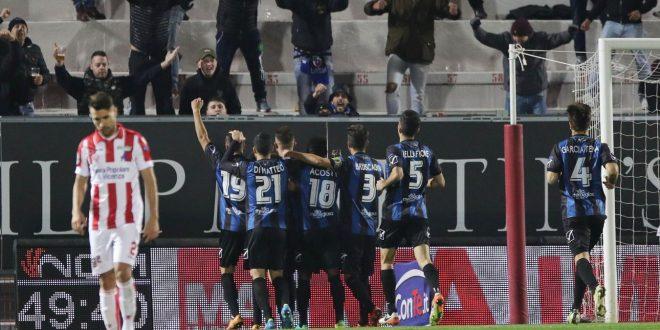 Serie B, 14ª giornata: Latina di rigore, il Vicenza cade in casa 0-1