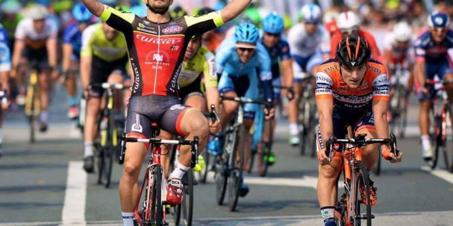 Tour of Taihu Lake 2016, Mareczko serve subito il bis