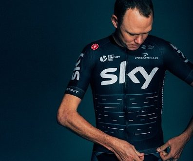 Team Sky, ecco la nuova divisa autocelebrativa by Castelli