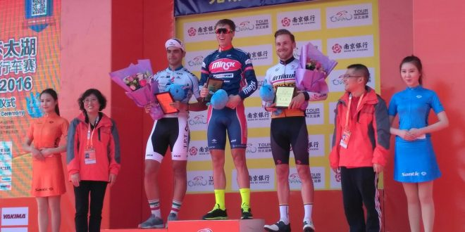 Tour of Taihu Lake 2016, prologo a Golovash. Quarto Stacchiotti
