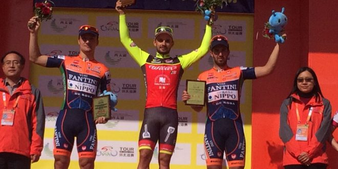 Tour of Taihu Lake 2016, Mareczko regala il tris