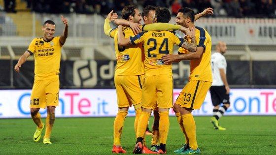 Serie B, 13^ giornata: Verona senza freni, ok Cittadella, Perugia espugna Pisa