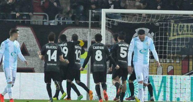 Serie B, recupero 13ª: Ascoli-Entella 2-1, la rimonta stavolta è bianconera