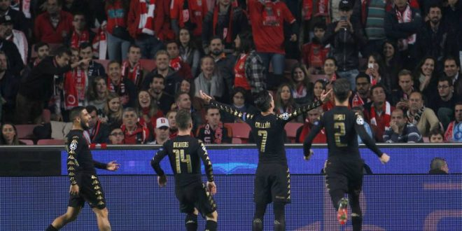 Champions, 6ª giornata: Napoli, a Lisbona è un trionfo; vittoria sul Benfica e 1° posto!