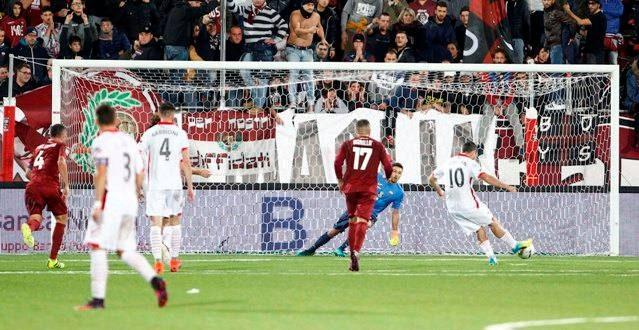 Serie B, 17ª giornata: il Carpi di rigore affonda il Trapani, ci pensa Catellani
