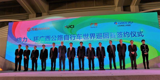 Il WorldTour si amplia ancora: nasce il Tour of Guanxi