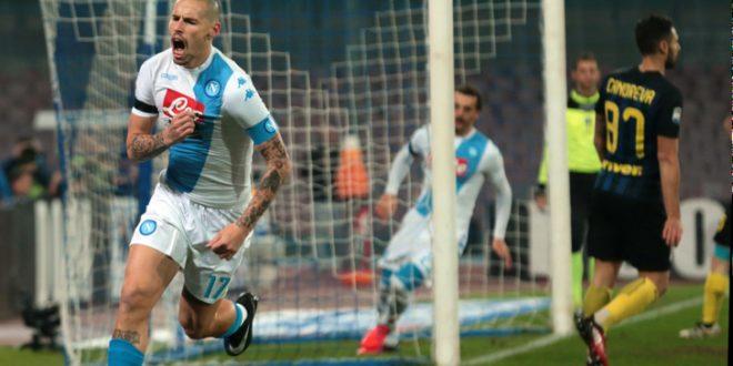 Serie A, 15ª giornata: 5' eccezionali e il Napoli fa l'Inter; 3-0 senza storia