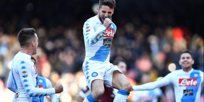 Serie A, 17ª giornata: Napoli-Torino in-Mertens-abile! Chievo ok; Crotone e Pescara affondano