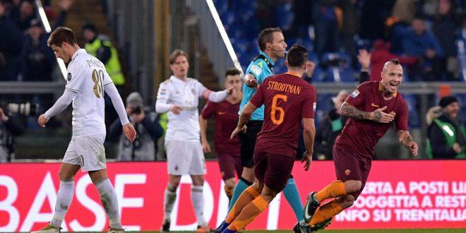 Serie A, 16ª giornata: Roma-Milan 1-0, sono i giallorossi l'anti-Juve