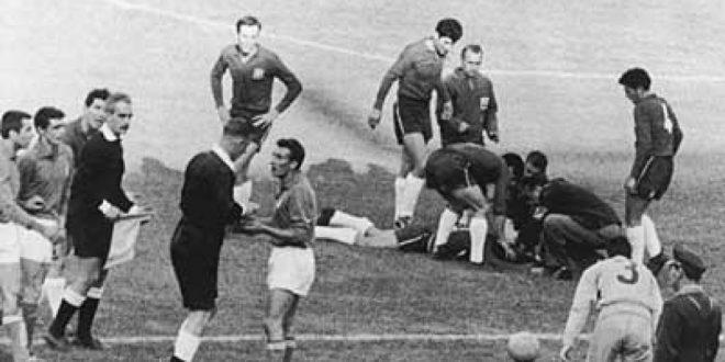 La Battaglia di Santiago: Cile-Italia 1962