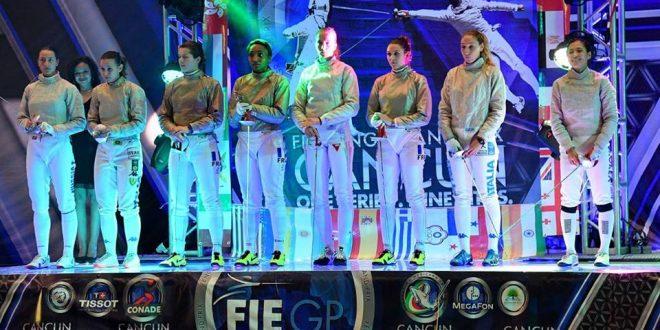 CDM Scherma, a Cancun è gloria Egorian. Sciabola azzurra out ai quarti