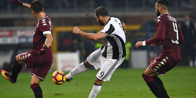 Serie A, 18^ giornata: Juve silura Toro, goleada Napoli, Palermo nei guai
