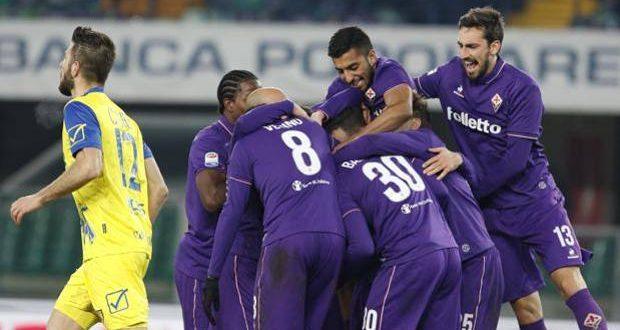 Serie A, 21ª giornata: Chievo-Fiorentina 0-3, la Viola non si ferma più